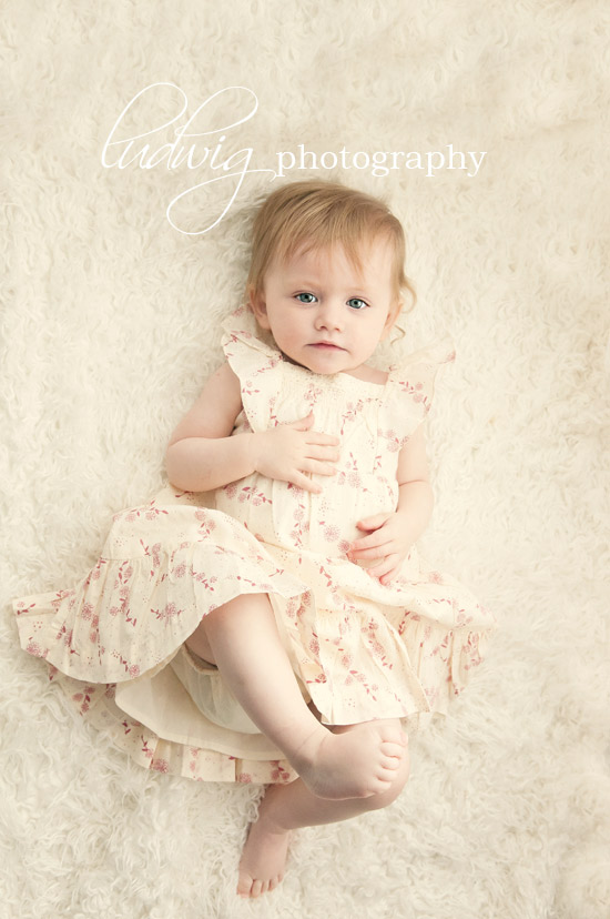 baby isabella in pretty dress