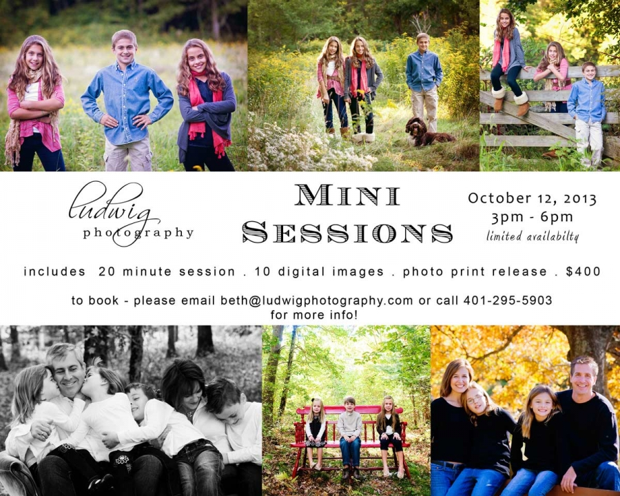 RI Photography mini sessions